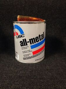 Usc All Metal Aluminum Filled Auto Body Filler Quart