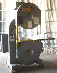36 Tannewitz Model G3se Vertical Band Saw