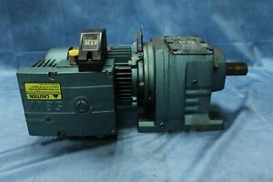 Sew Eurodrive Motor With Gearbox 75 Hp R57dt80k4mm05b