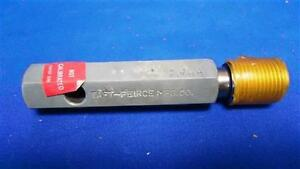Taft pierce 7 8 18 Ns 2 Thread Plug Gage Go 8389 No Go 8340