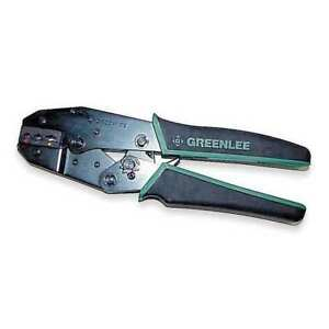 Ratchet Crimper 22 To 10 Awg 9 L Greenlee 45500