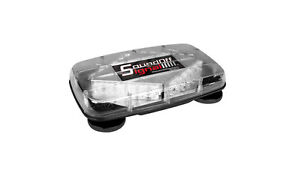 Sound off Signal Mini Magnetic Led Lightbar amber Leds