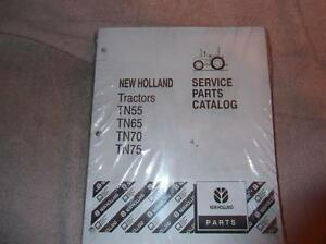 New Holland 5610s 6610s 6810s 7610s Tractor Parts Catalog Manual