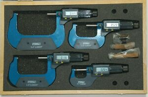 Fowler 54 850 104 Electronic Micrometer Set 0 4 Blow Out Price