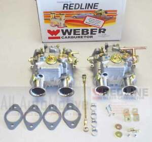 Mercedes Benz 190sl Genuine Weber By Redline Dual 40dcoe Weber Carburetor Kit