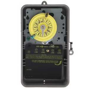 Intermatic T104p Electromechanical Timer 24 Hour dpst