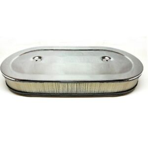 1967 69 Chevrolet Camaro Crossram Air Cleaner Assembly Narrow Base