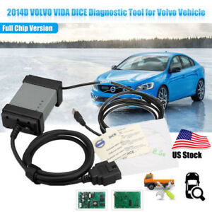 2017 Newest Volvo Vida Dice 2014d Obd2 Eobd Code Reader Car Diagnostic Scaner