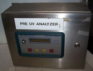 Orbisphere Laboratories Oxygen Hydrogen Ozone Analyzer 3600 With Ss Enclosure