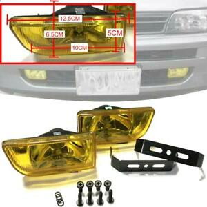 Dlaa Universal Fog Lamp Light Spot H3 12v 55w Yellow Len 2