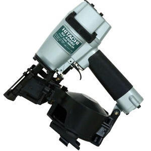 Hitachi Nv45ab2 7 8 To 1 3 4 16 Deg Professional Roofing Coil Nailer New