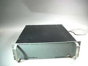 Invertron California Instruments Programmable Oscillator Series 830t