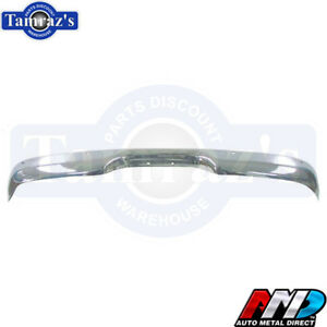 1960 1961 1962 1963 1964 65 66 Chevy Gmc Truck Stepside Rear Chrome Bumper Amd