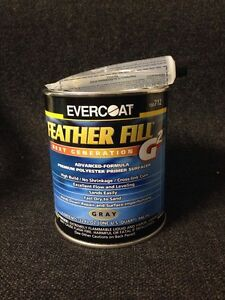 Evercoat Feather Fill G2 Polyester Primer Surfacer Gray Quart Fib 712