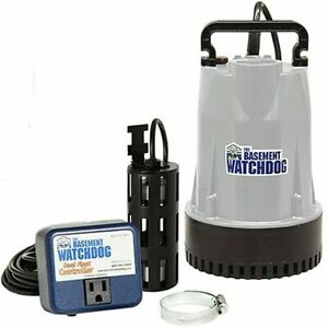 Basement Watchdog Bw1033 1 3 Hp Cast Iron Submersible Sump Pump W Vertical