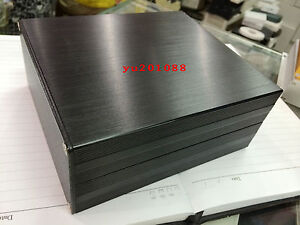 New Black Diy Aluminum Project Enclosure Box Electronic Case_big 160x145x68mm