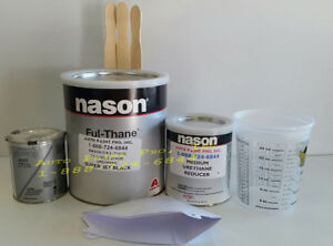 Super Jet Black Dupont Nason 2k Ful Thane Single Stage Urethane Auto Paint