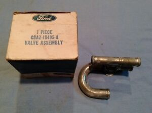 1968 Ford Galaxie Mercury Heater Water Control Valve Assembly C8az 18495 A Nos