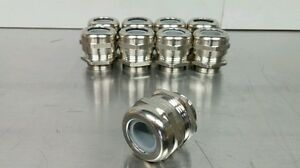 Lot Of 9 Harting Strain Relief Fitting 19000005092 Hp Web Press 5090 6748