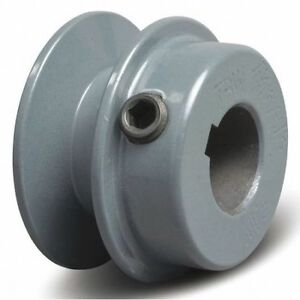 Tb Wood s Ak2578 7 8 Fixed Bore 1 Groove Standard V belt Pulley 2 55 In Od