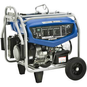 Yamaha Ef5500de 4500 Watt Electric Start Professional Portable Generator