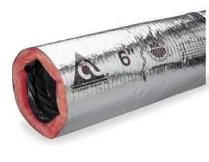 Insulated Flexible Duct 6 Dia Atco 13602506
