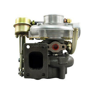 Universal T28 Turbo Charger Turbocharger Water Banjo 14psi Wastegate New Design
