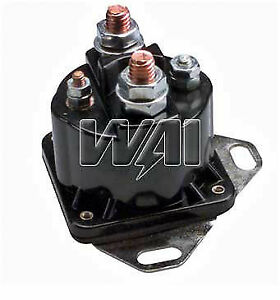 Starter Motor Switch Solenoid Relay For Ford Mercury 1977 1991 Merkur 1985 1989
