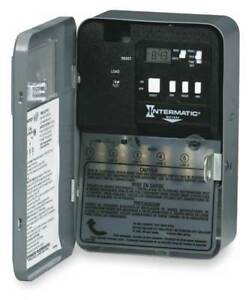 Electrnic Mech Water Heater Timer dpst Intermatic Eh40