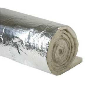 Duct Insulation 1 1 2 X 48 X 25 Ft Johns Manville 670380