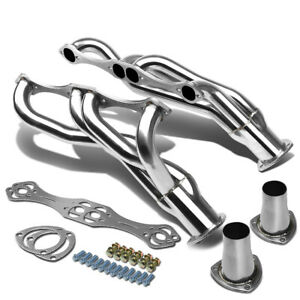 Stainless Steel Clipster Header Manifold Exhaust For Sbc Chevy V8 A F G Body Rod