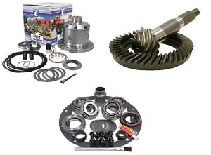 Dana 44 4 88 Ring And Pinion Yukon Air Zip Locker 30 Spline Gear Pkg