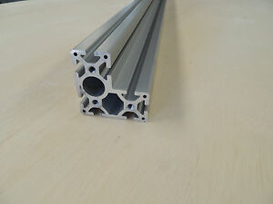 80 20 Extruded Aluminum L shaped Profile 40mm X 80mm X 40mm X 2100mm 82 68 long