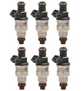 Set 6 42lbs Fuel Injectors For A6 323i 325i 328i 525i Mustang Regal V6 440cc