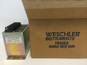 New In Box Weschler Electric Vi2 841 Current Transducer