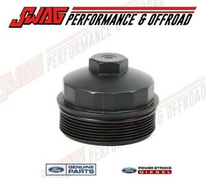 03 07 6 0l Powerstroke Diesel Truck Genuine Ford Oem Fuel Filter Cap Frame Rail