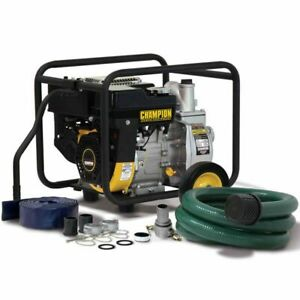 Champion 66520 158 Gpm 2 Semi trash Water Pump Package