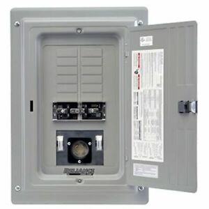 Reliance Controls 100 amp Indoor Transfer Panel W 50 amp Power Inlet