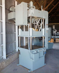 75 Ton Dake 27 153 Four post Hydraulic Down acting Press