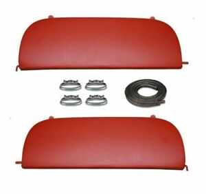 53 54 1953 1954 Chevy 150 210 Bel Air Metal Fender Skirts With Clips New
