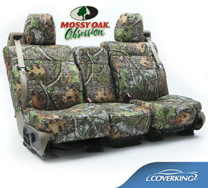 New Full Printed Mossy Oak Obsession Camo Camouflage Seat Covers 5102029 35