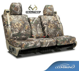 New Full Printed Realtree Xtra Camo Camouflage Seat Covers 5102040 12