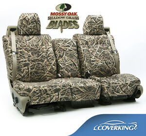 New Mossy Oak Shadow Grass Blades Camo Camouflage Seat Covers 5102030 18