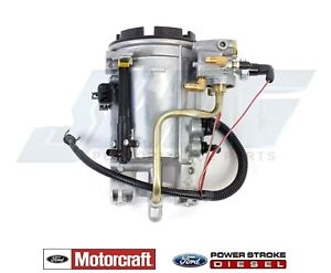 96 97 Ford 7 3l Powerstroke Diesel Genuine Motorcraft Oem Fuel Filter Housing