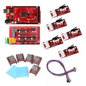 Ramps 1 4 With Iduino Mega 2560 5pcs A4988 Endstop Prusa Mendel Bargain Sale