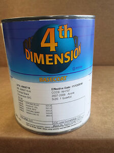 Automotive Paint Sherwin Williams Dimension 07 09 Acura Nh707 Formal Black Paint