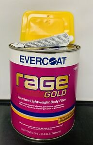 Evercoat 112 Rage Gold Premium Lightweight Body Filler Fib 112 Gallon Can