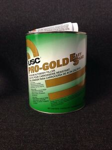Usc Pro Gold Easy Sanding Premium Auto Body Filler Gallon Usc 16400