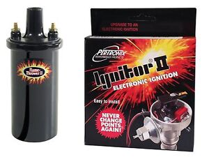 Pertronix Ignitor Ii Ignition Module And Flame Thrower Ii Coil Kit