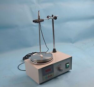 Free Shipping 85 2 Magnetic Stirrer With Hot Plate Digital Heating Lab Mixer